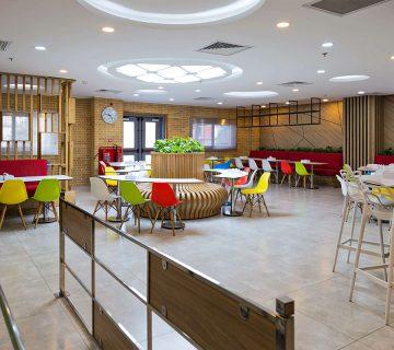 سالن غذاخوری شرکت bel (روزانه)